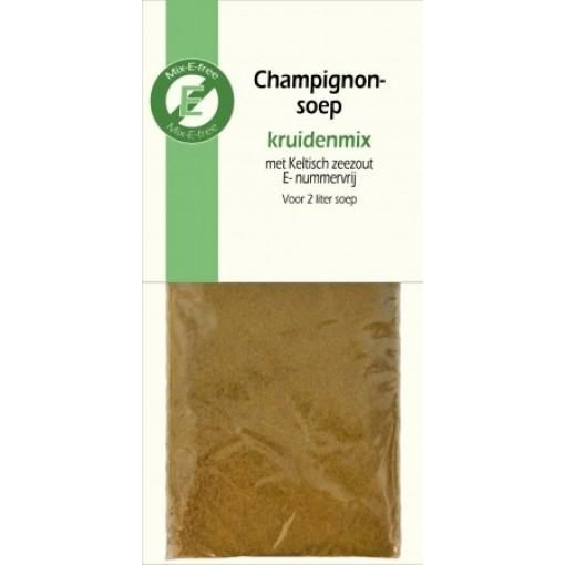 Kruidenmix Champignonsoep van Mix-E-free