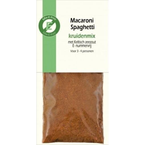 Kruidenmix Macaroni Spaghetti van Mix-E-free