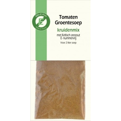Kruidenmix Tomaten-Groentesoep van Mix-E-free