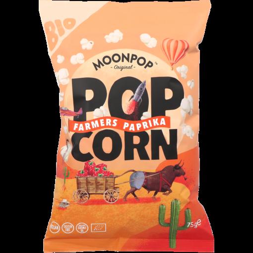 Popcorn Farmers Paprika 75 gram van Moonpop