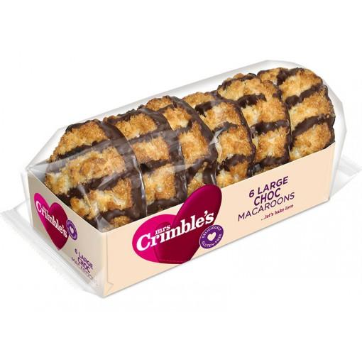 Chocolade Makronen  van Mrs Crimble's