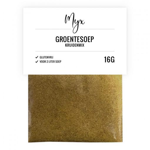 Kruidenmix Groentesoep van Myx