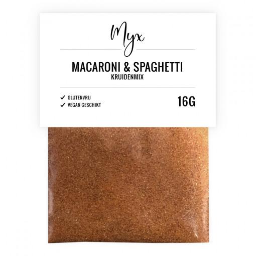 Kruidenmix Macaroni Spaghetti van Myx