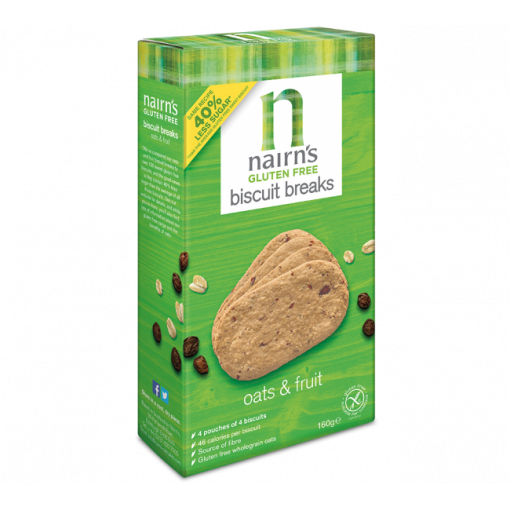 Biscuit Breaks Haver & Fruit van Nairn's