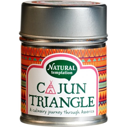 Kruidenmix Cajun Triangle van Natural Temptation