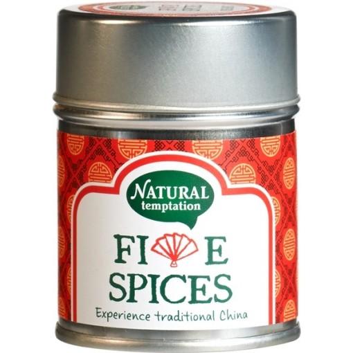 Kruidenmix Five Spices van Natural Temptation