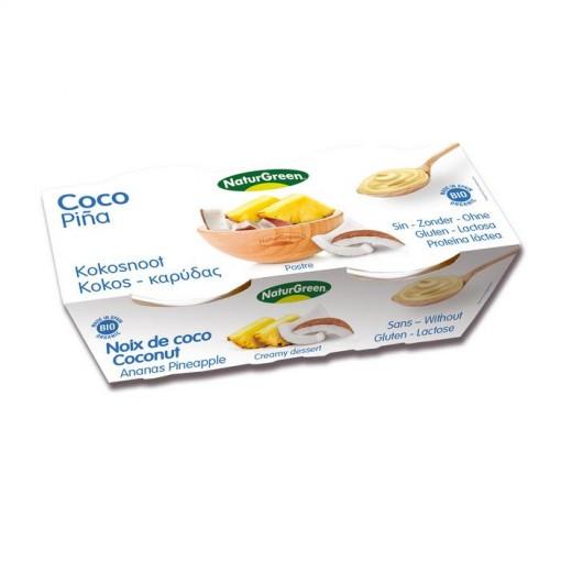 Kokos Dessert Ananas van NaturGreen