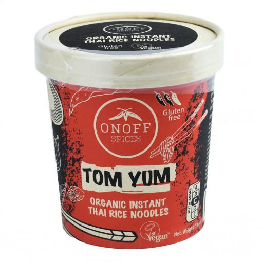 Instant Thaise Rijst Noodles Tom Yum van Onoff Spices