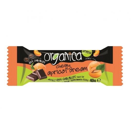 Chocolade & Abrikoos Bar van Organica