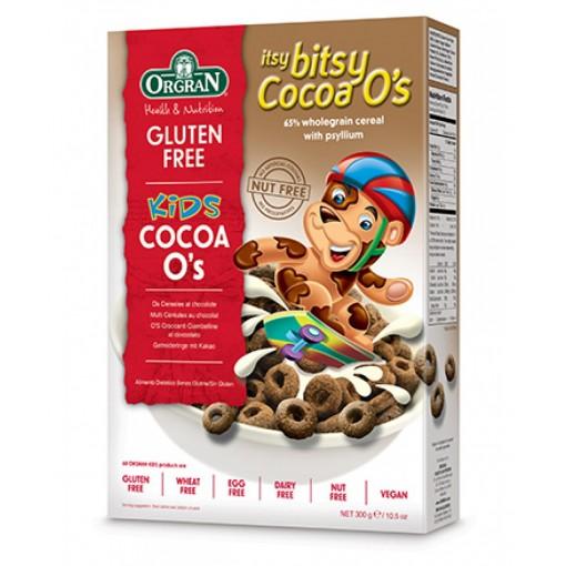 Itsy Bitsy Cocoa O's van Orgran
