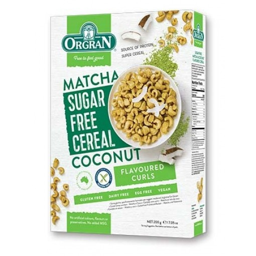 Ontbijtgranen Matcha & Kokosnoot Suikervrij van Orgran