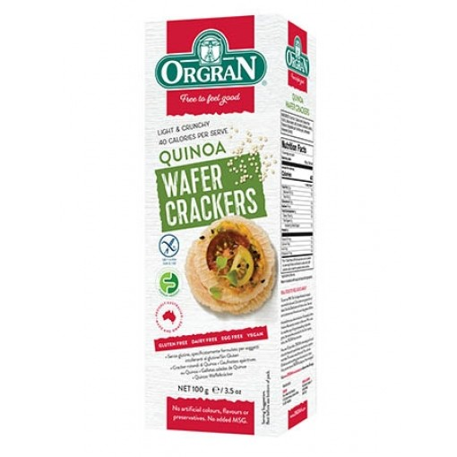 Quinoa Wafeltjes van Orgran