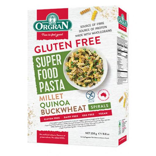 Fusilli Gierst, Quinoa en Boekweit van Orgran