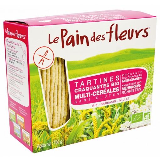 Meergranen Crackers van Le Pain des Fleurs