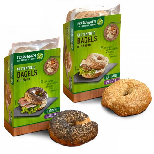 Bagels Proefpakket (2 smaken) van Poensgen