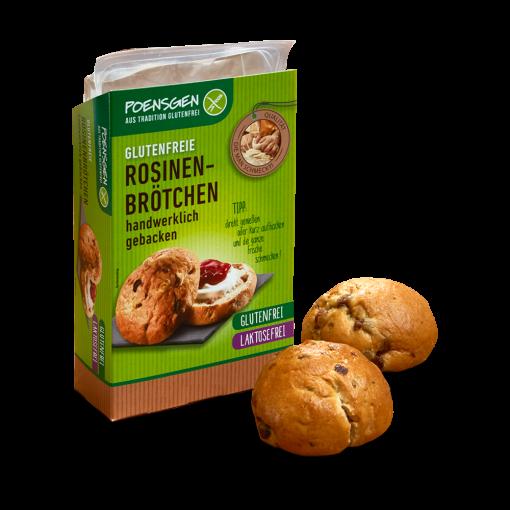 Rozijnen Broodjes van Poensgen