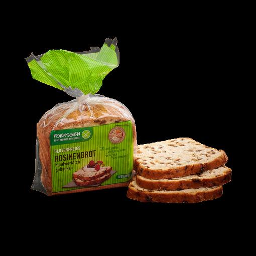 Rozijnenbrood Gesneden van Poensgen