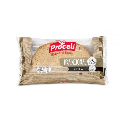 Gesneden Brood Rustica van Proceli