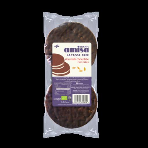 Rijstwafels Rijstmelk Chocolade van Amisa