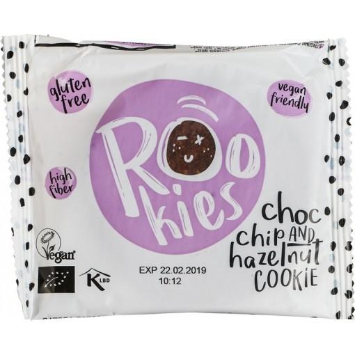 Cookie Choc Chip & Hazelnut van Rookies