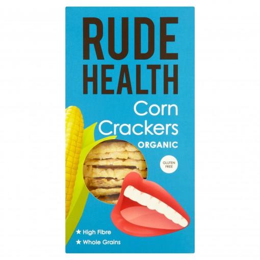Corn Crackers van Rude Health