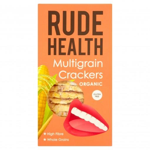 Multigrain Crackers van Rude Health