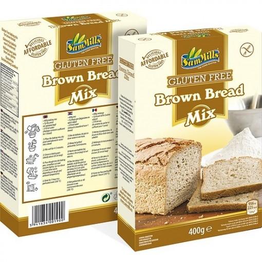 Bruin Brood Mix van Sam Mills