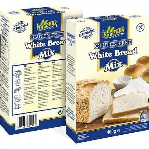 Witte Brood Mix van Sam Mills