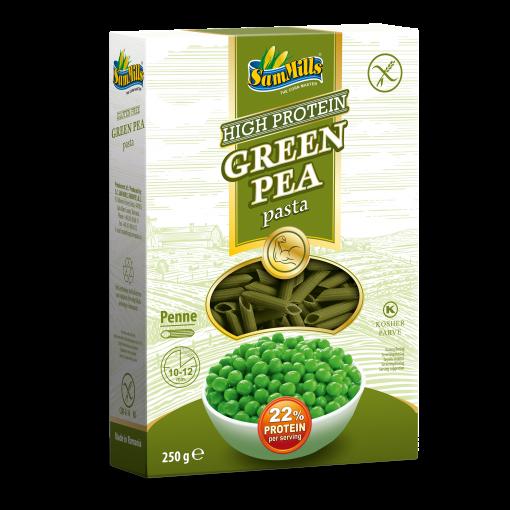 Groene Erwten Pasta van Sam Mills