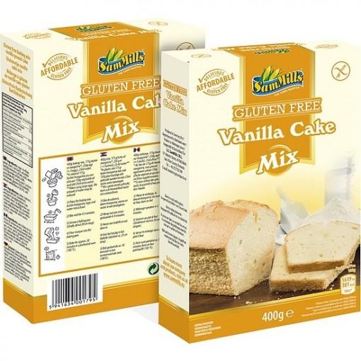 Vanille Cake Mix van Sam Mills