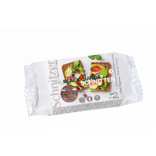Zwart Quinoa Brood  van Schnitzer