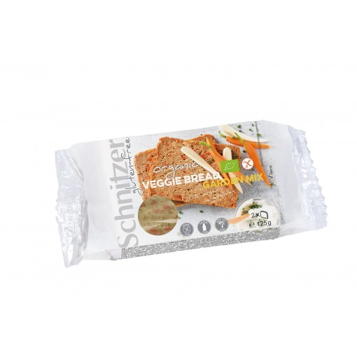Veggie Bread Garden Mix van Schnitzer