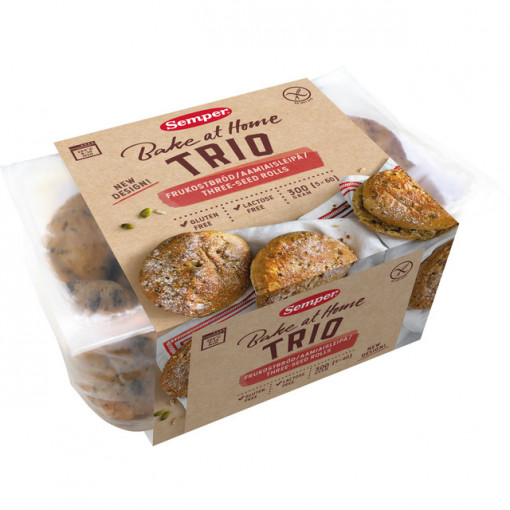 Trio Ontbijtbroodjes van Semper