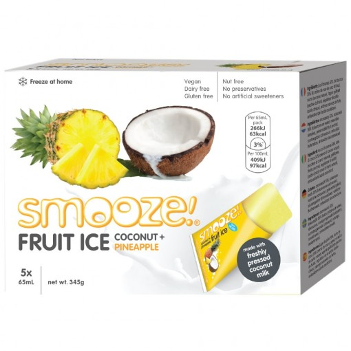 Fruit Ice Coconut & Ananas van Smooze