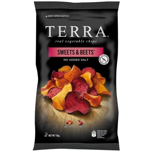 Exotische Groentechips Sweets & Beets van Terra