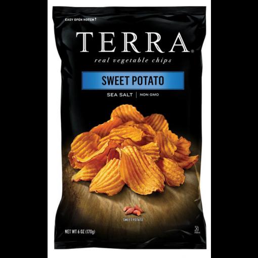 Zoete Aardappelchips van Terra