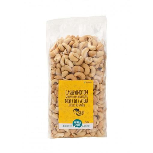 Cashewnoten Geroosterd & Ongezouten 750 gram van Terrasana