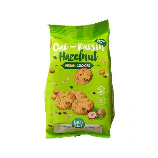 Cookies Oat Raisin Hazelnut van Terrasana