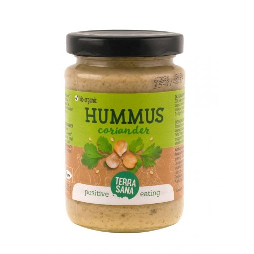 Hummus Koriander van Terrasana