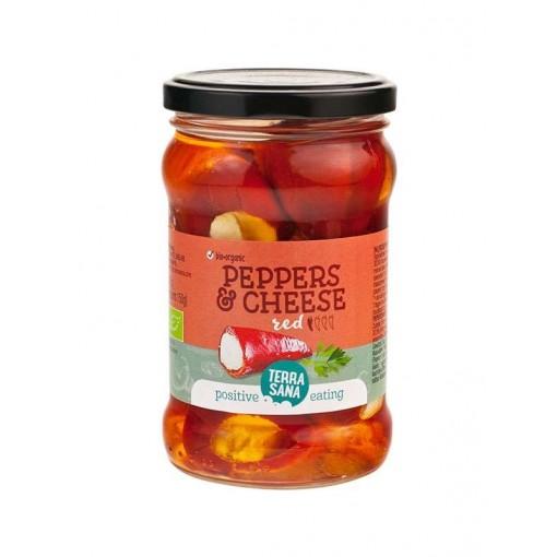 Rode Pepers Roomkaas van Terrasana