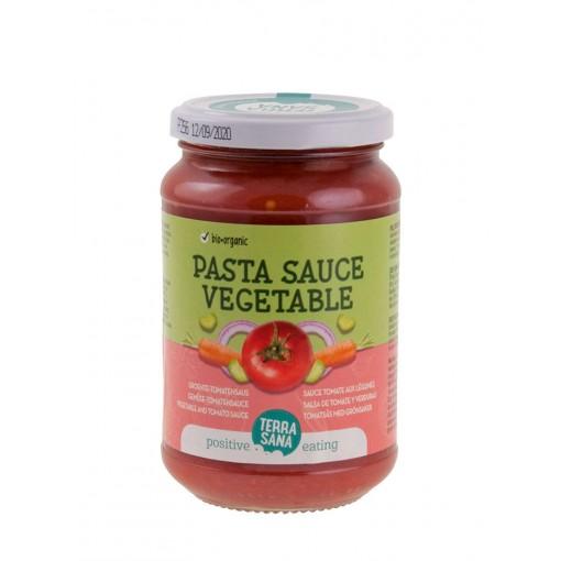 Tomatensaus Met Groente van Terrasana
