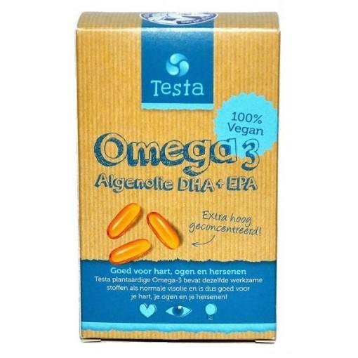 Omega-3 Algenolie DHA + EPA van Testa