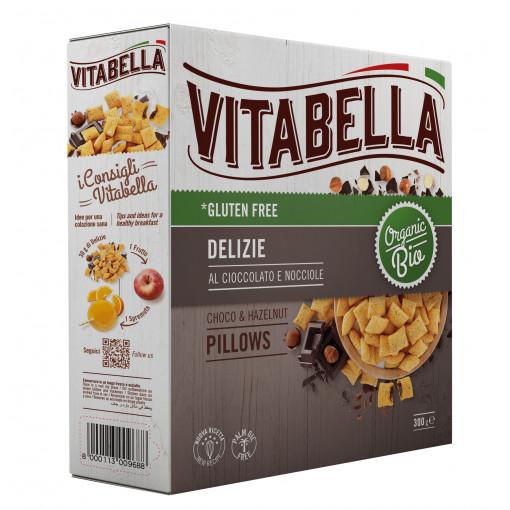 Chocolate & Hazelnut Pillows van Vitabella