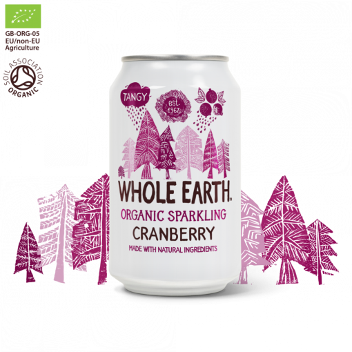 Frisdrank Cranberry van Whole Earth