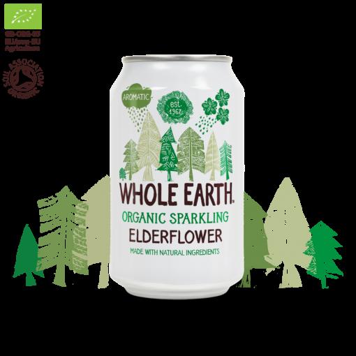Frisdrank Elderflower van Whole Earth