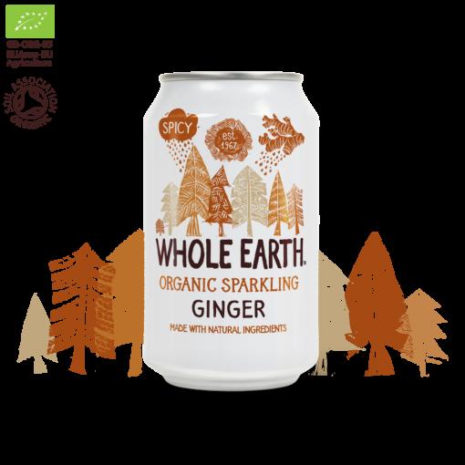 Frisdrank Ginger van Whole Earth