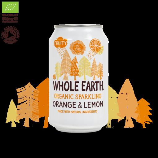 Frisdrank Sinaasappel & Citroen van Whole Earth