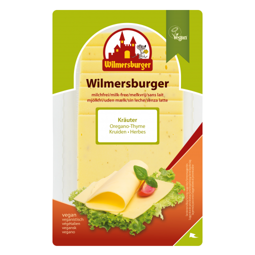 Plakjes Kaas Kruiden van Wilmersburger