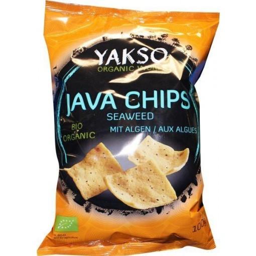 Java Chips Seaweed van Yakso