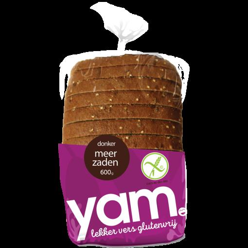 Donker Meerzaden Brood van Yam